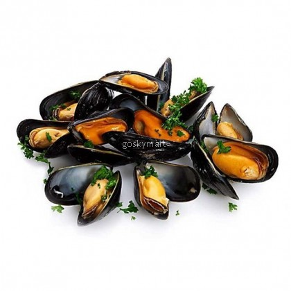 Whole Shell Black Mussel   全壳黑蠔 (500g/pack)